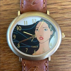 TIMEX Vintage Disney Pocahontas Wrist Watch